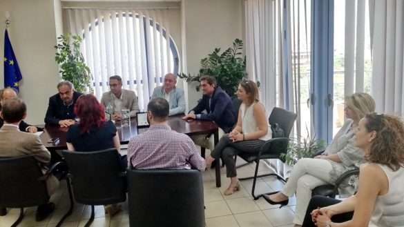 2018.07.17 @ Συνέντευξη τύπου για τη συμμετοχή της Περιφέρειας Δυτικής Ελλάδας, ως τιμώμενης Περιφέρειας, στη Διεθνή Τουριστική Έκθεση FILOXENIA 2018.