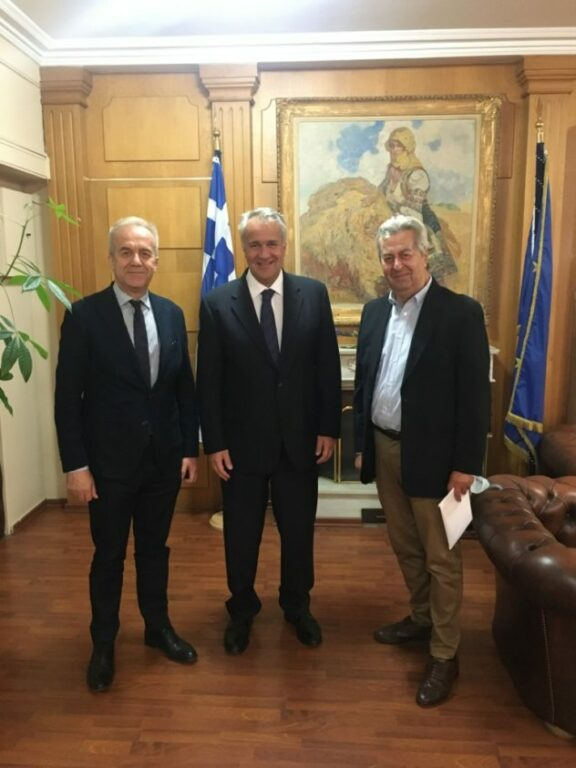 Επιμελητήριο Ηλείας: Συναντήσεις Νικολούτσου και Λεβέντη με υπουργούς στο πλαίσιο της συνεχούς προσπάθειας στήριξης της Ηλειακής Οικονομίας μετά την πανδημία (photos)