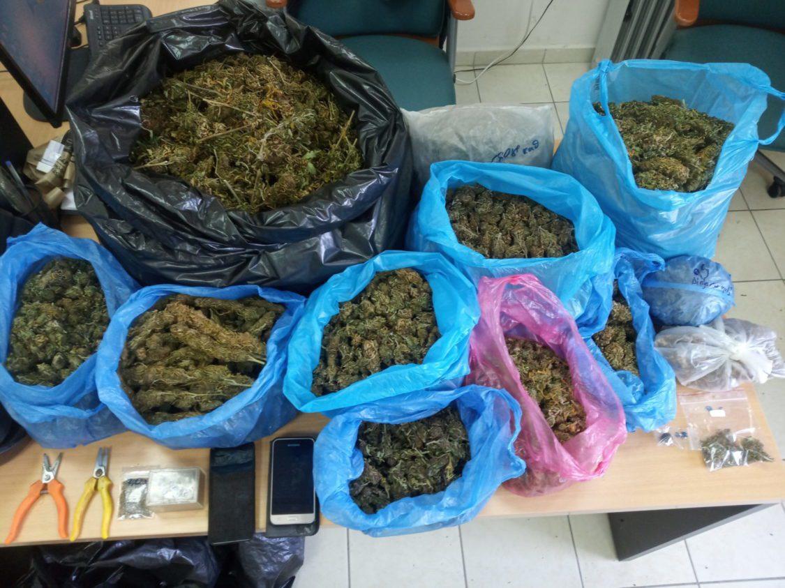 Ηλεία: Σύλληψη άνδρα σε χωριό του νομού για 8 κιλά κάνναβης και 16 δενδρύλλια (photos)